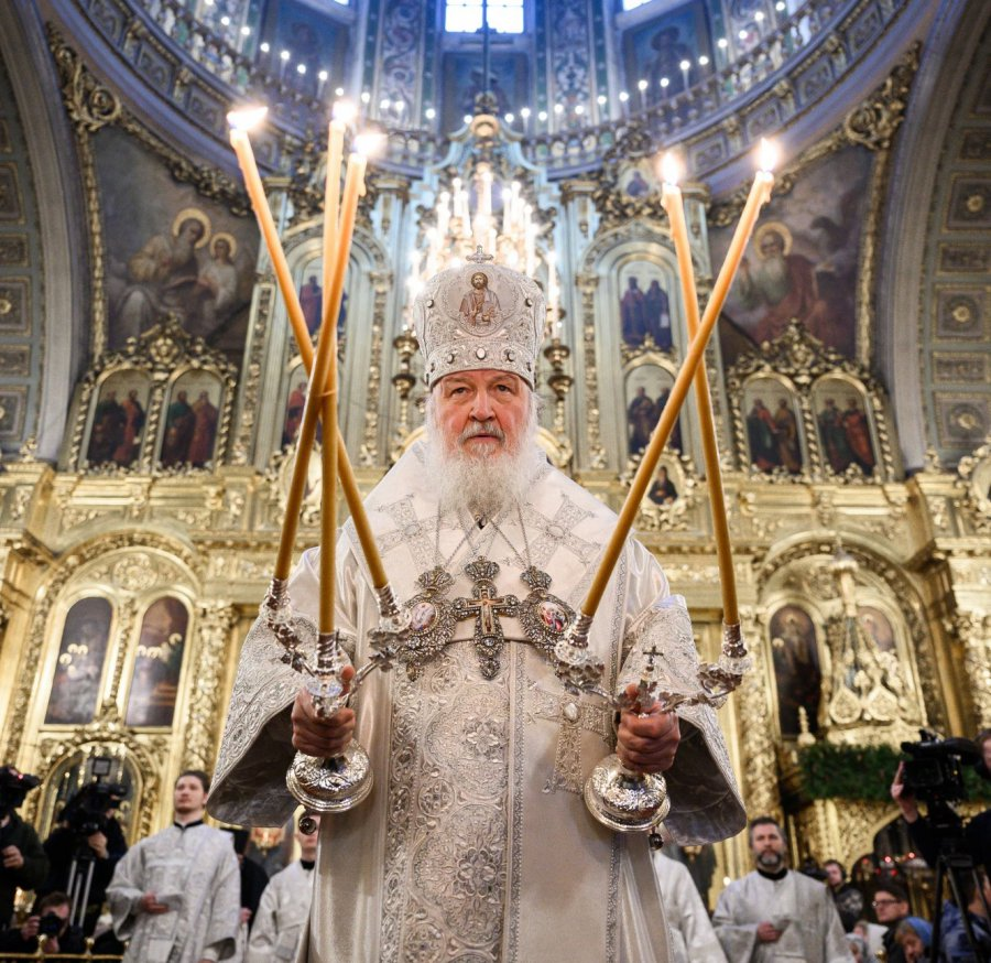 Поздравление патриарха кирилла с крещением